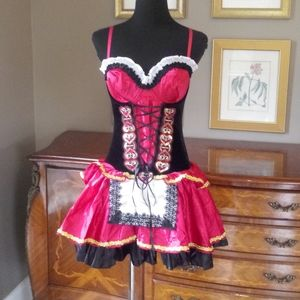 0110 Dreamgirl Little Red Riding Hood Costume